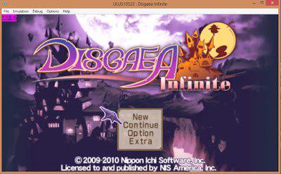 Disgaea Infinite PSP ISO
